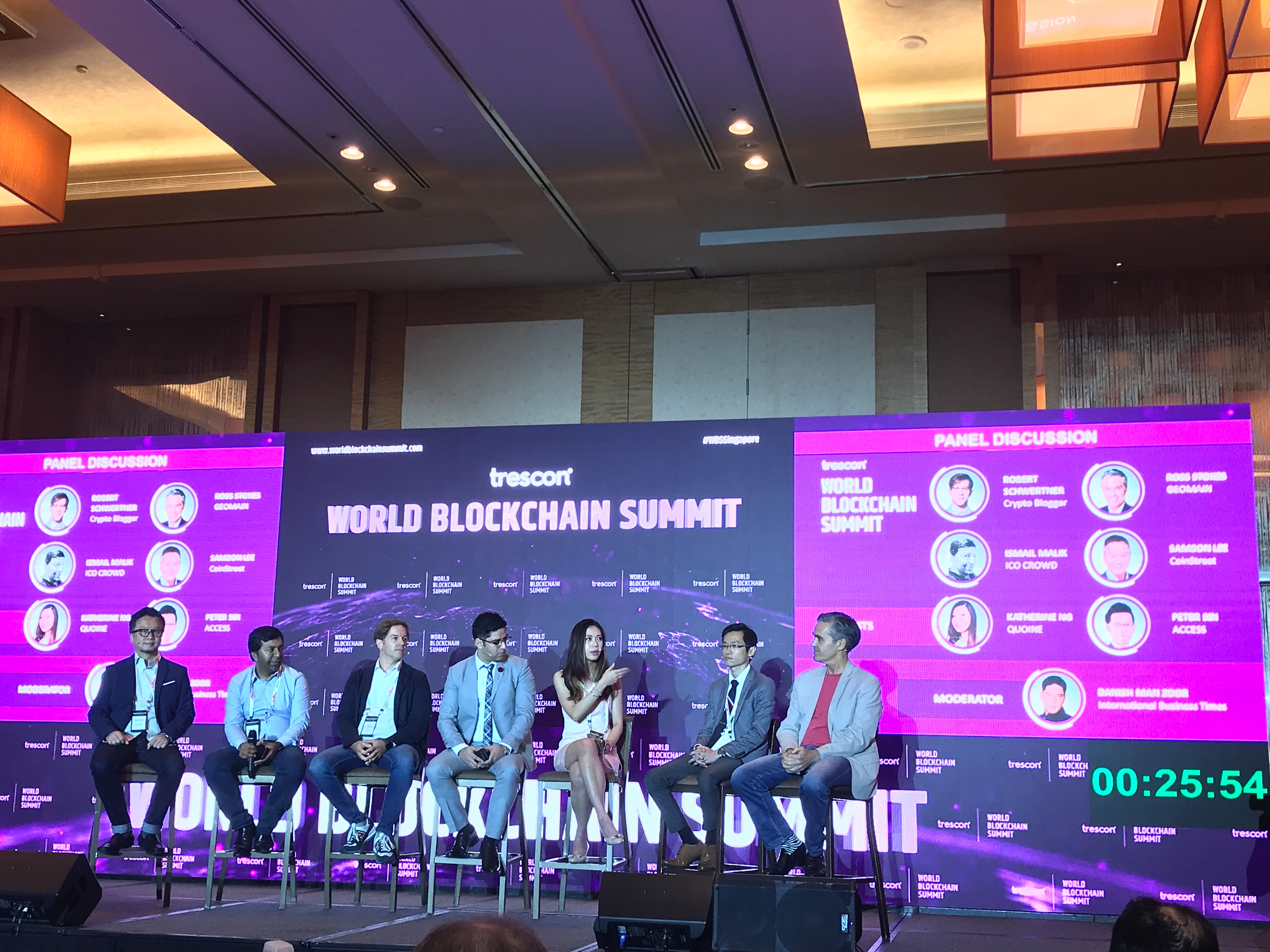 Liquid Head of Marketing Kat Ng discussed crypto at the World Blockchain Summit