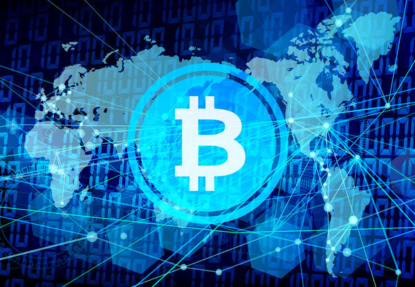 【国別】世界におけるビットコインの取引量推移
