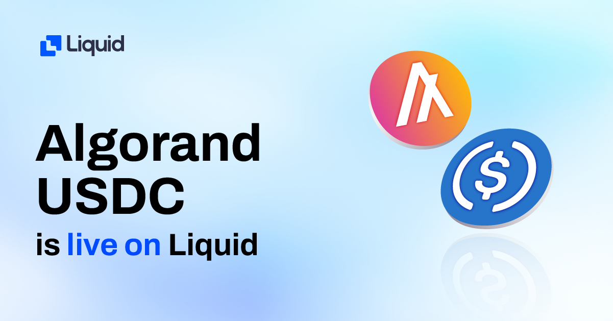 Algorand USDC on Liquid