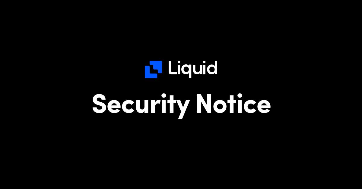 security incident warm wallet