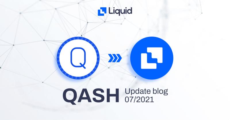 qash liquid chain lqt blog update