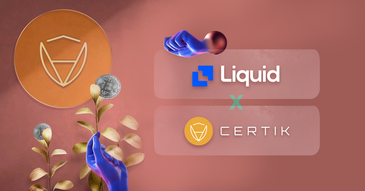 Certik is listed on liquid exchange