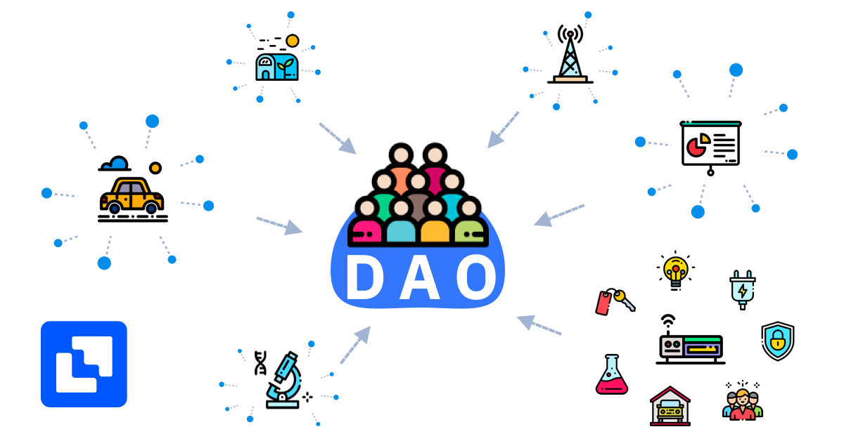 Decentralized Autonomous Organization (DAO) in crypto