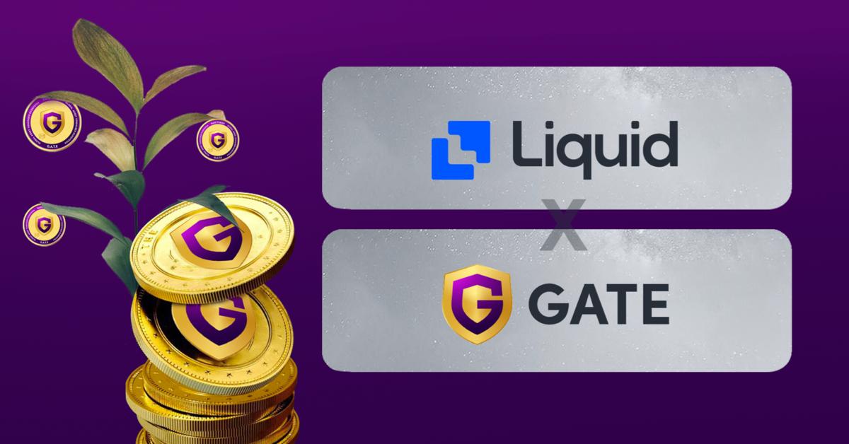 buy gate token on Liquid