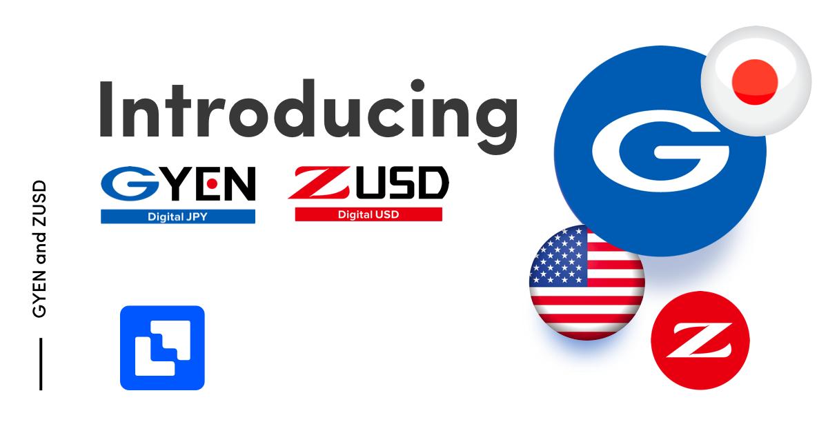 buy GYEN and ZUST stablecoin on Liquid