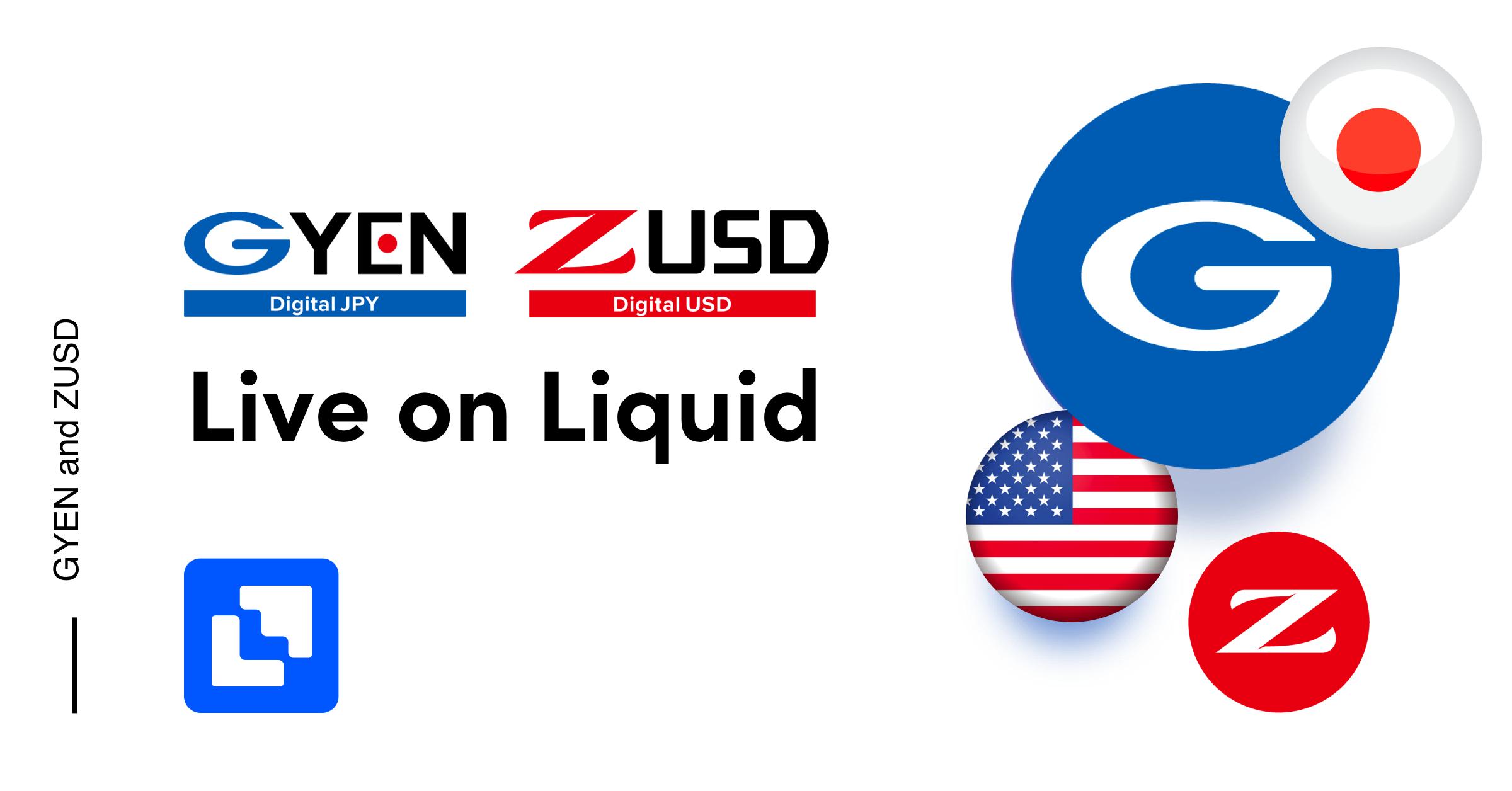 GYEN stablecoin live on Liquid