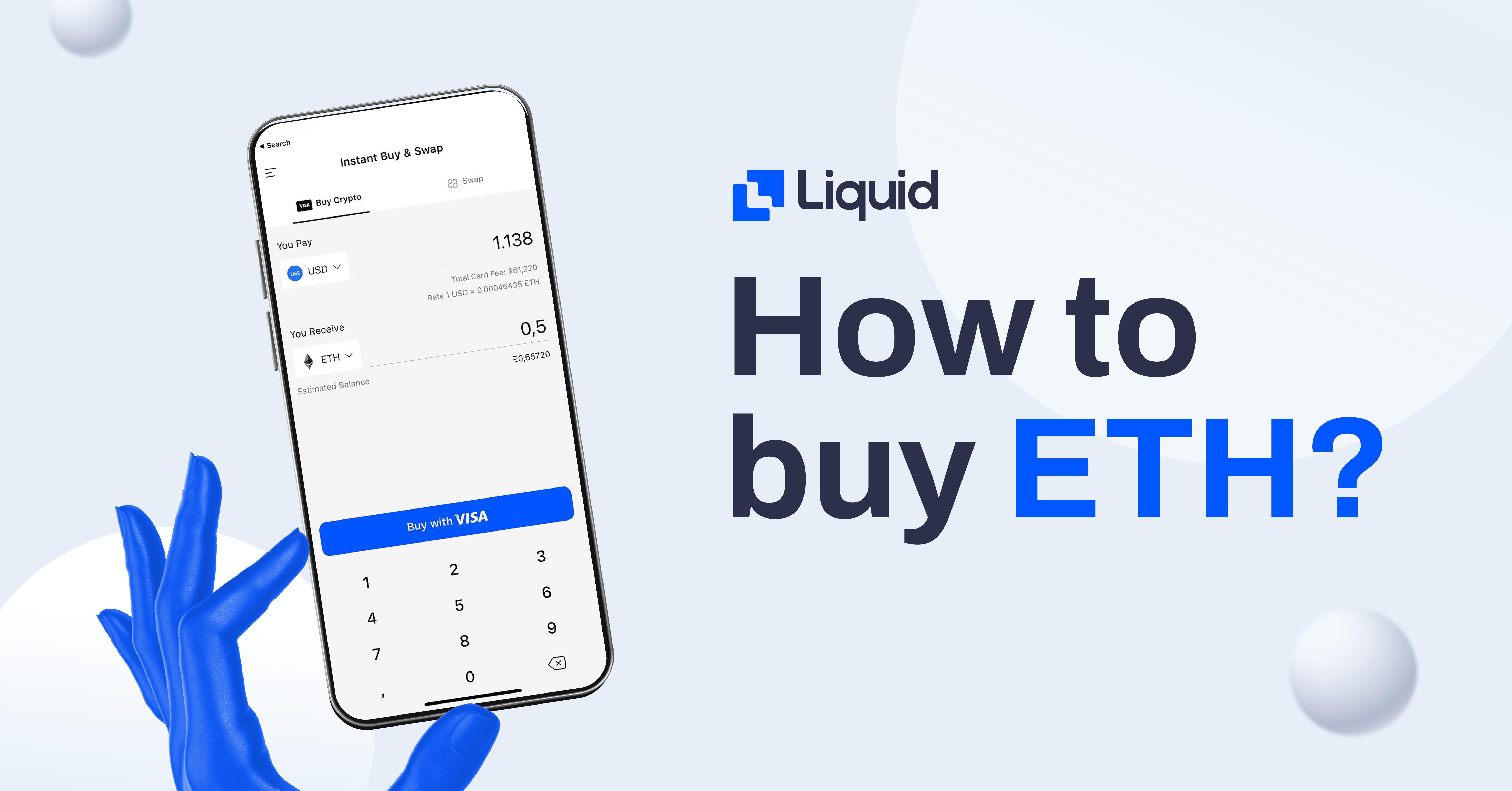 how to buy eth on Liquid