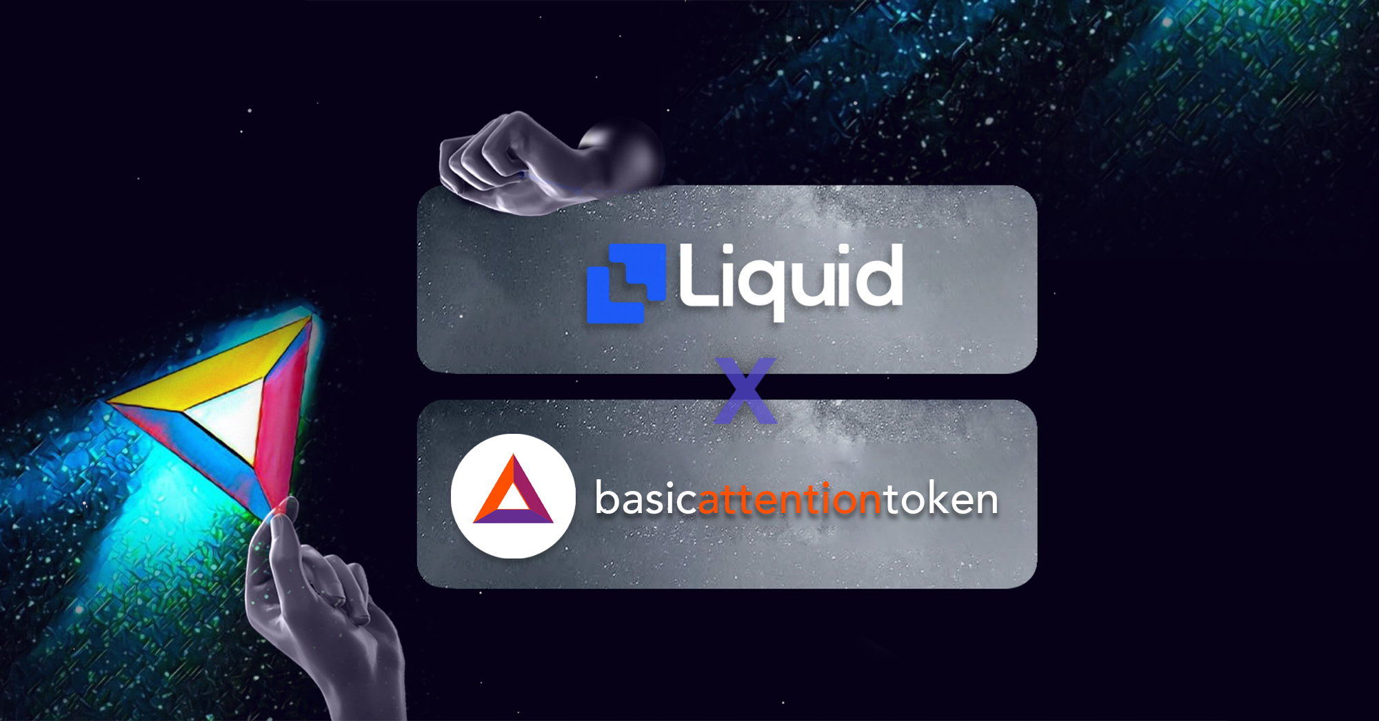 basic attention token trading on Liquid exchange