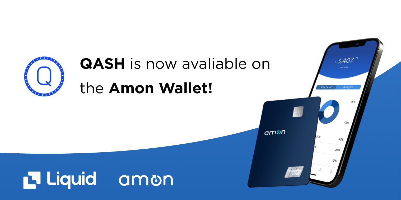 QASH on Amon Wallet