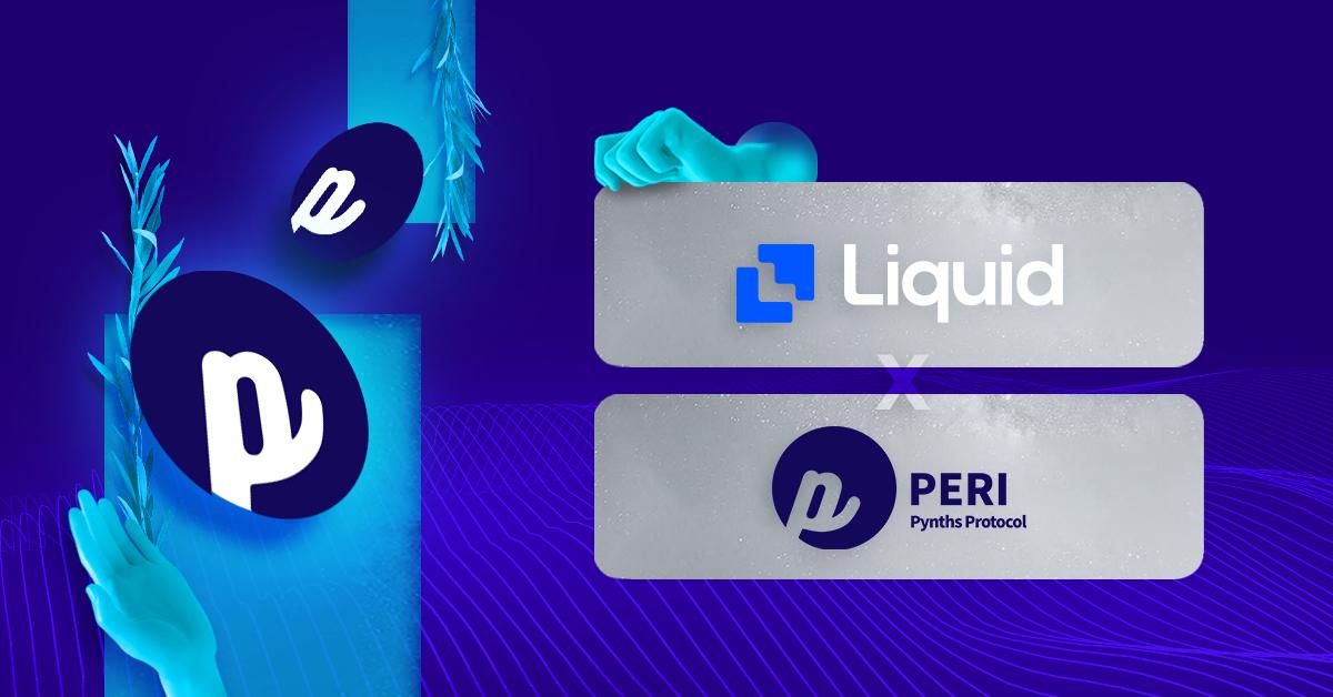 Buy PERI Finance token on Liquid