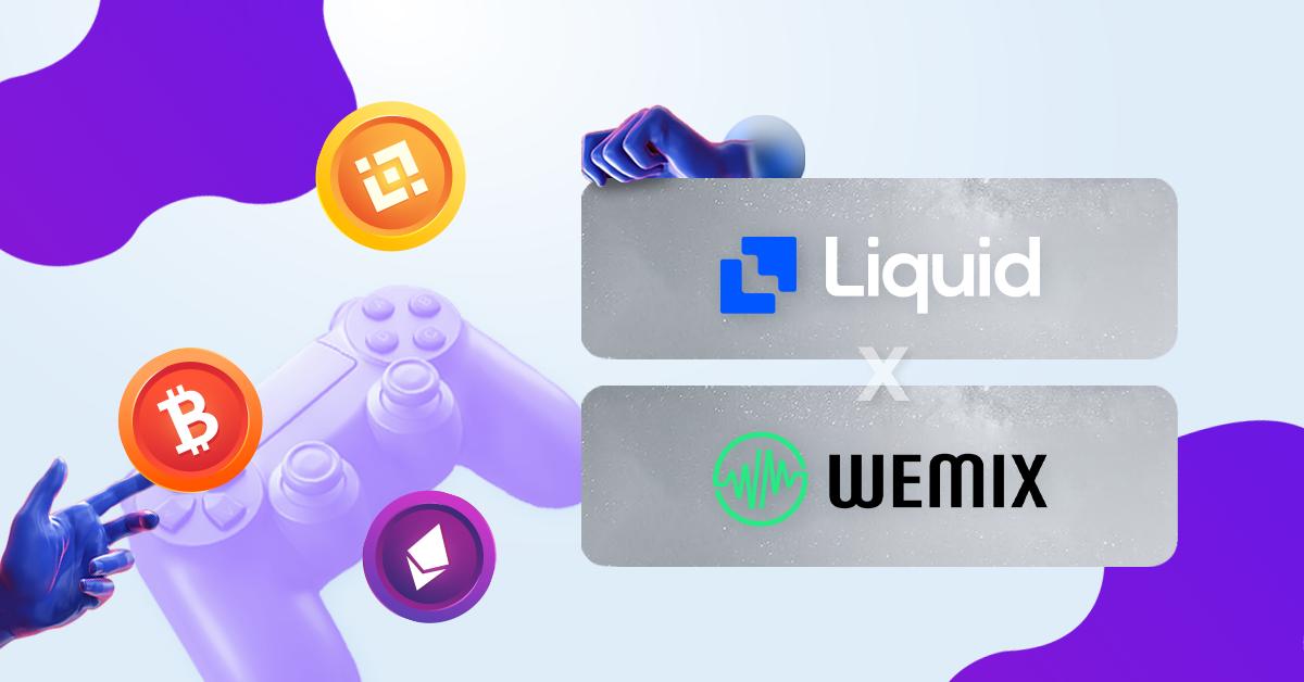 Buy WEMIX token on Liquid