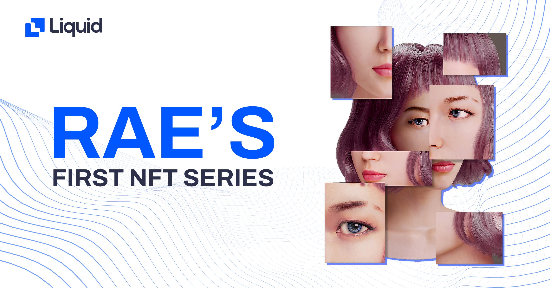 Rae virtual influencer NFT sale
