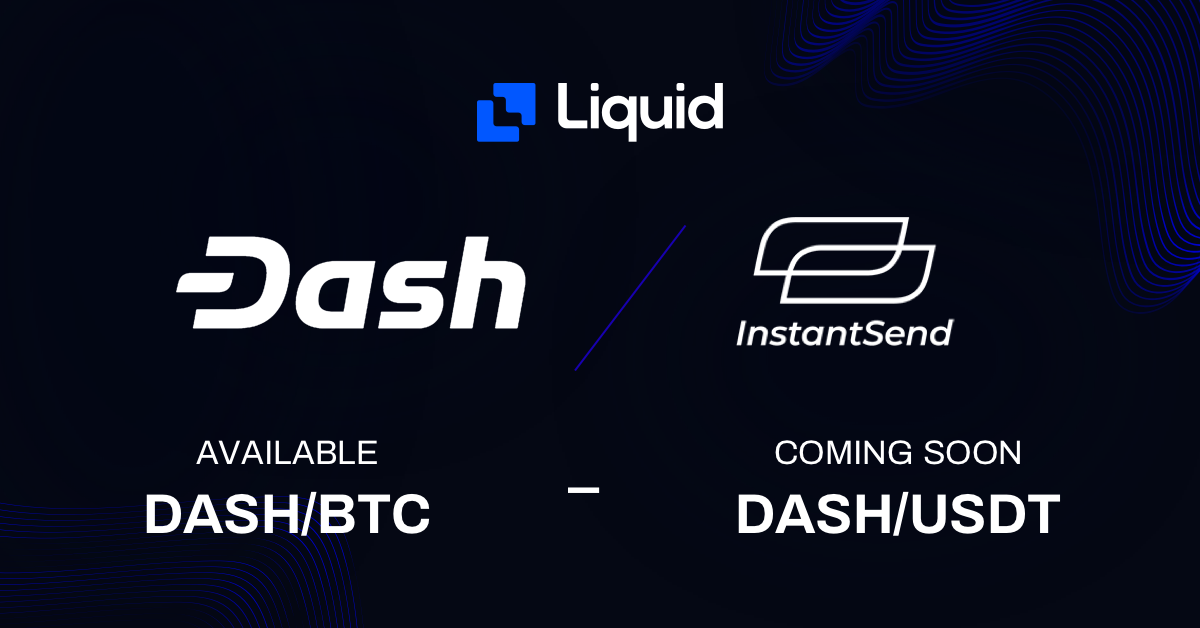 Dash on Liquid with Discounted Trading Fees