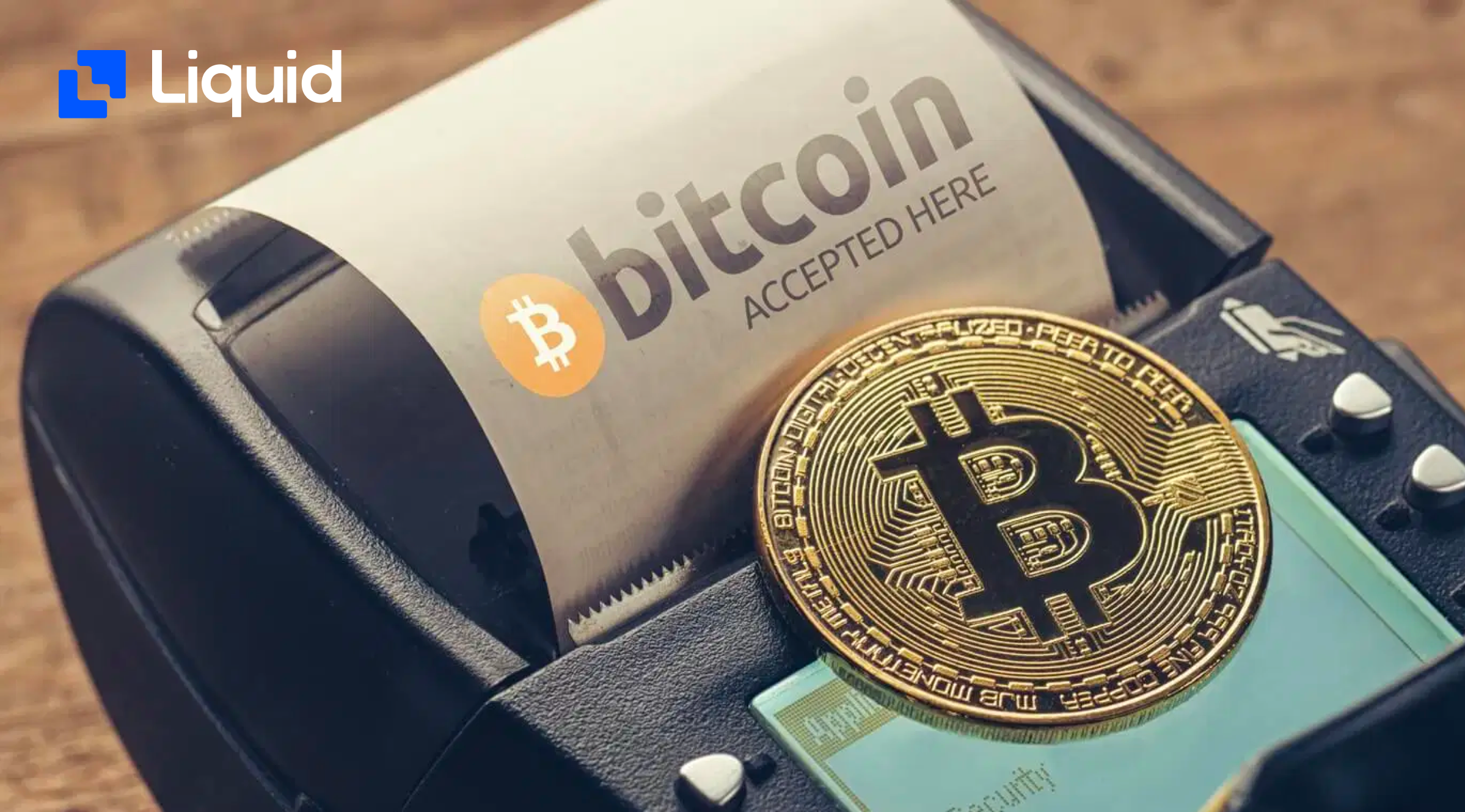 business accepts cryptocurrency as a payment