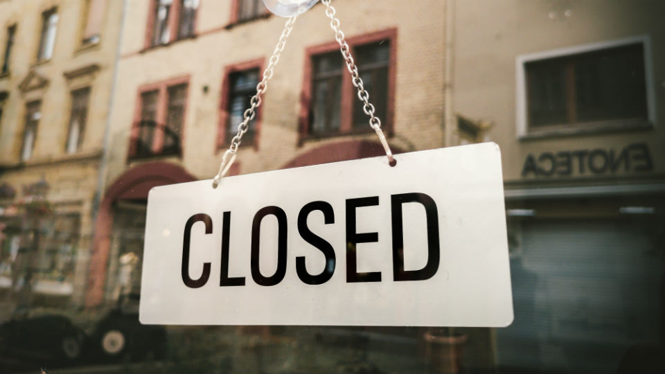 bitcoin exchange closes down