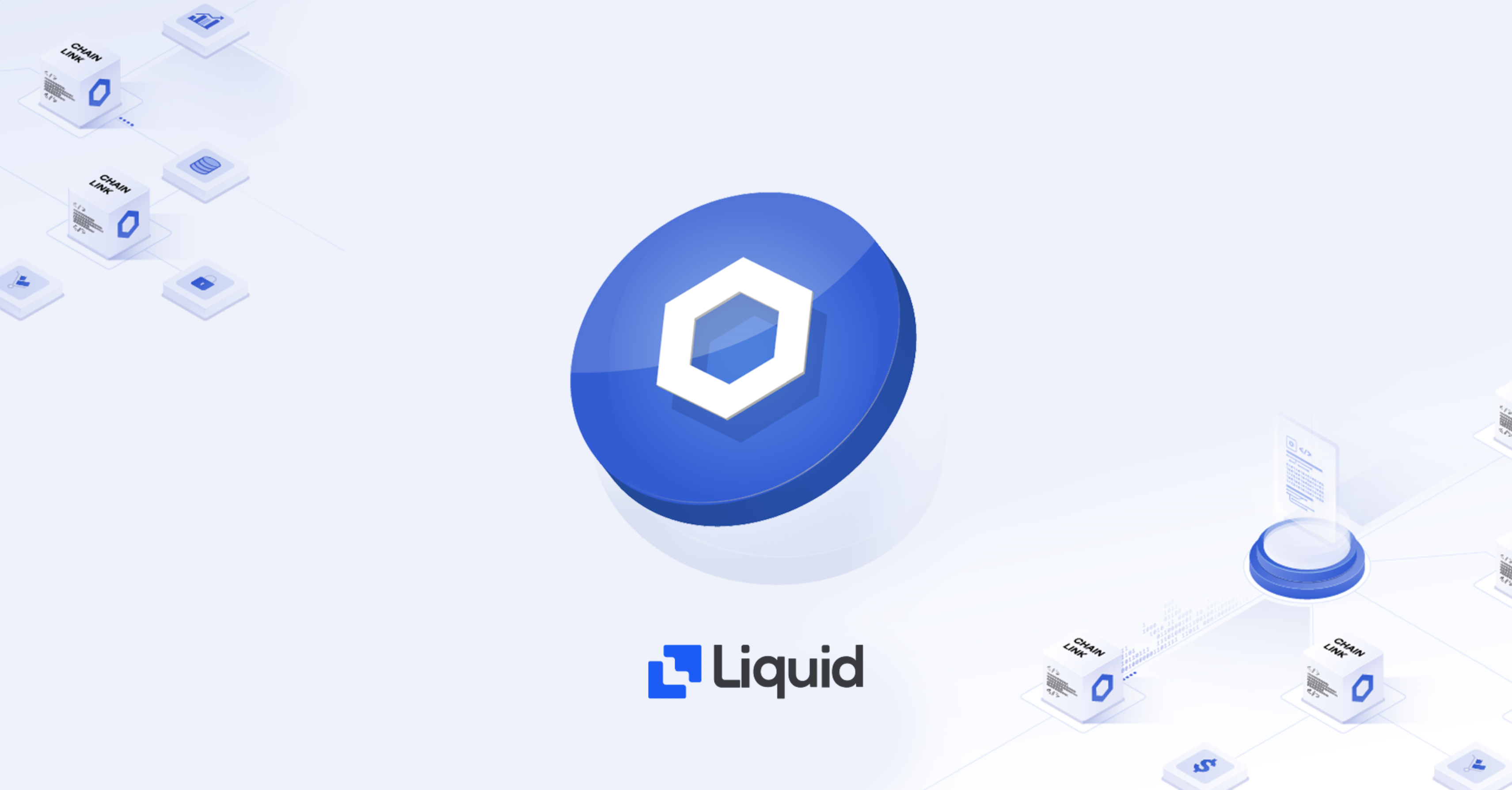 buy chainlink on Liquid exchange